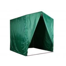 """Палатка для торговли и промоакций """"Трейд"""" однотонная с козырьком, с тентом на молнии 2х2 м"""