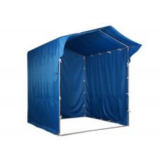 """Палатка для торговли и промоакций """"Трейд"""" однотонная с козырьком 2х2 м"""