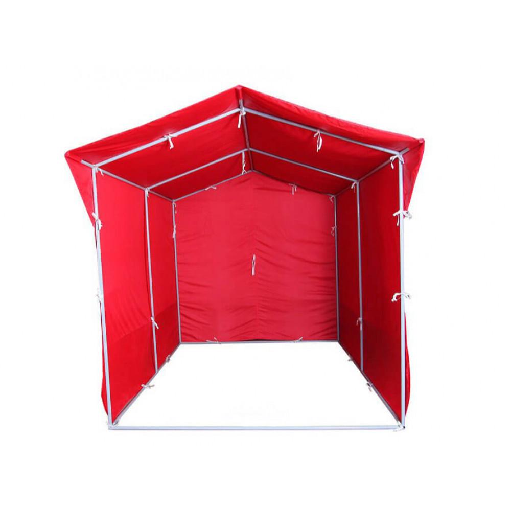 """Палатка для торговли и промоакций """"Трейд"""" однотонная (с козырьком) 2х3 м"""