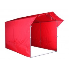 """Палатка для торговли и промоакций """"Трейд"""" однотонная с козырьком 2х3 м"""