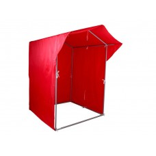 """Палатка для торговли и промоакций """"Трейд"""" однотонная с козырьком 1,5х1,5 м"""