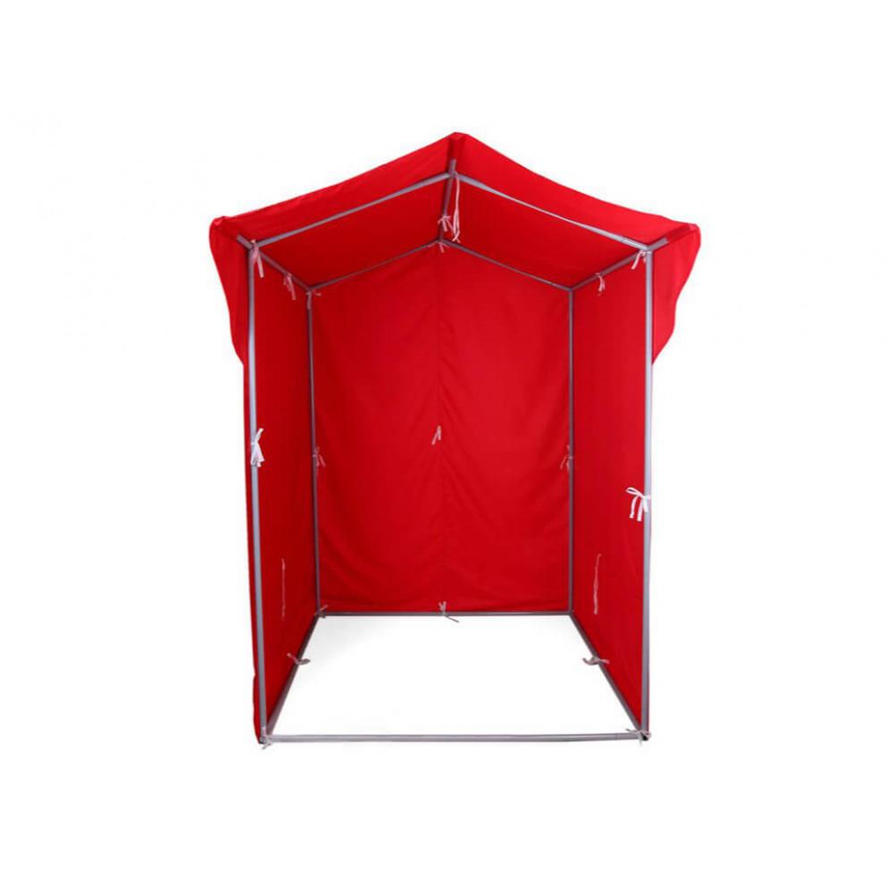 """Палатка для торговли и промоакций """"Трейд"""" однотонная (с козырьком) 1,5Х1,5 м"""