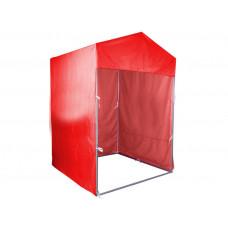 """Палатка для торговли и промоакций """"Трейд""""  с козырьком 1,5х1,5 м с полной запечаткой"""