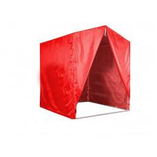 """Палатка для торговли и промоакций """"Трейд"""" без козырька ,с тентом на молнии 2х2 м с полной запечаткой"""