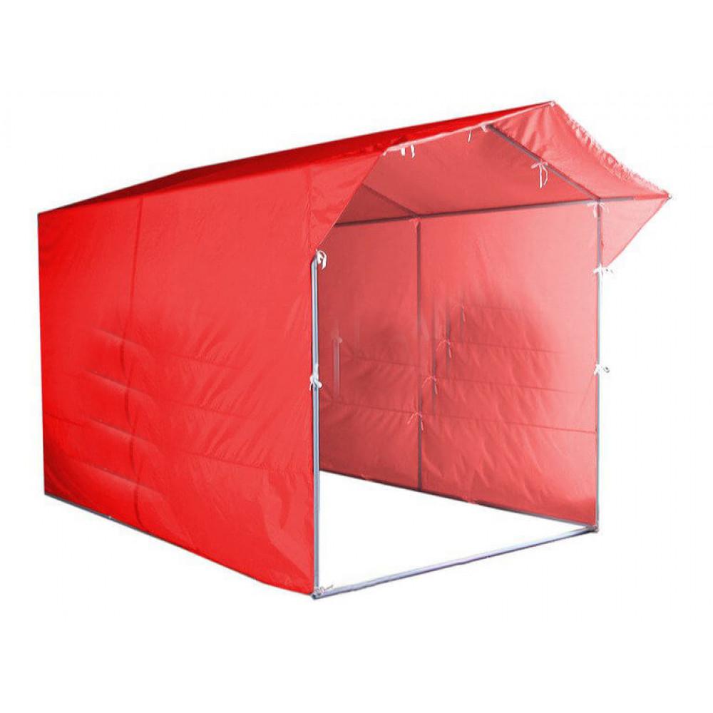 """Палатка для торговли и промоакций """"Трейд"""" (с козырьком) 2х3 м с полной запечаткой"""