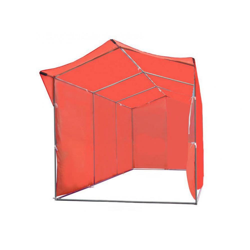 """Палатка для торговли и промоакций """"Трейд"""" однотонная (с козырьком) 2х6 м"""