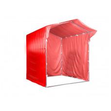 """Палатка для торговли и промоакций """"Трейд"""" с козырьком 2х2 м с полной запечаткой"""